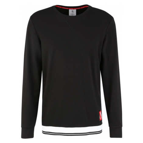 Calvin Klein Underwear Dlhé pyžamo  čierna