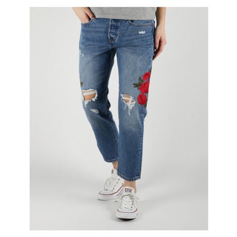 Levi's® 501™ Cropped Taper Jeans Modrá Levi´s