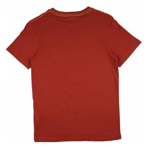 BILLABONG Funkčné tričko 'SNAKE'  hrdzavo červená / žltá / biela