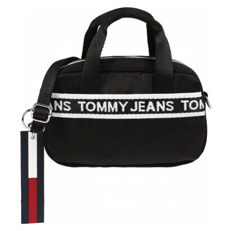 Tommy Jeans Kabelka  čierna / biela / tmavomodrá / červená Tommy Hilfiger