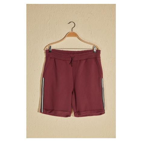 Trendyol Burgundy Men's Shorts & Bermuda