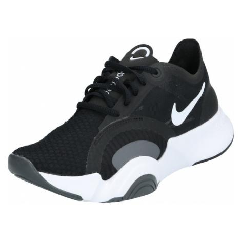 NIKE Športová obuv 'SuperRep Go'  čierna / biela