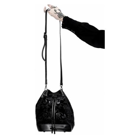 kabelka (taška) KILLSTAR - At Nightfall Velvet - BLACK - KSRA002544
