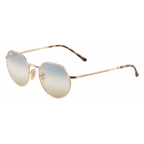 Ray-Ban Slnečné okuliare '0RB3565'  zlatá / tmavohnedá / opálová