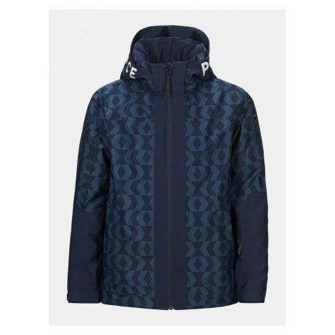 Bunda Peak Performance Jr Rider Ski Jacket Print