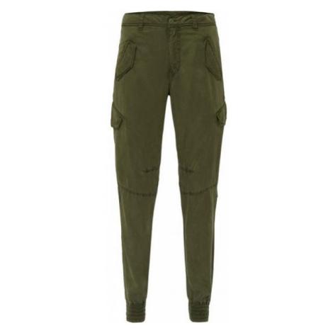 O'Neill LW CARGO PANTS tmavo zelená - Dámske nohavice