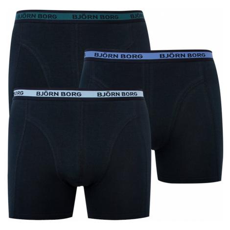 3PACK men's boxers Bjorn Borg black