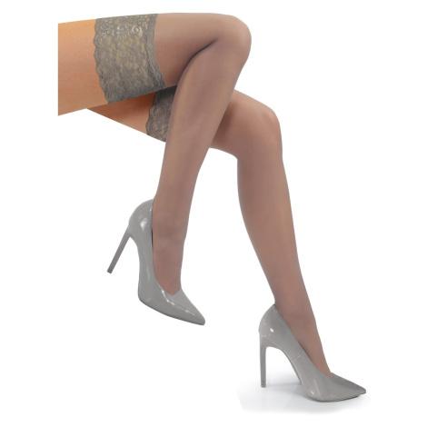 Sesto Senso Woman's Romantica 15 DEN Self-Supporting Transparent Stockings