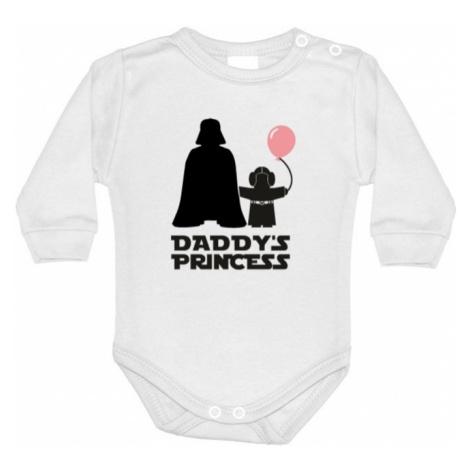 Detské body s potlačou Star Wars Daddys Princess