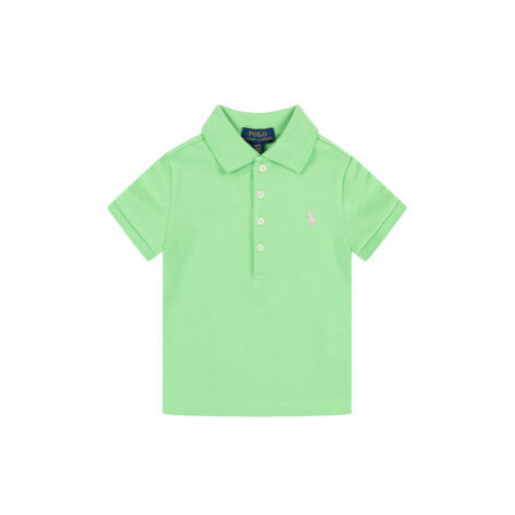 Polo Ralph Lauren Polokošeľa Interlock 311698589 Zelená Regular Fit