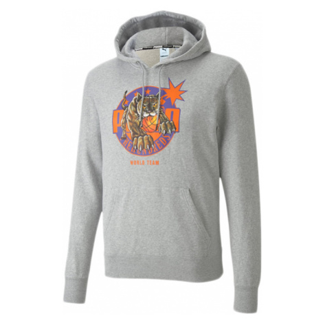 Puma x The Hundreds Men's Hoodie-XL čierne 596749_04-XL