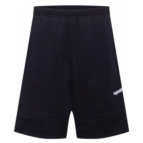 Jordan Športové nohavice 'Jordan Jumpman Air'  čierna / biela