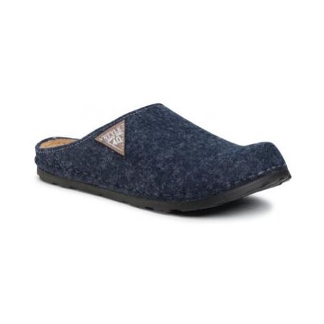Sivá pánska domáca obuv