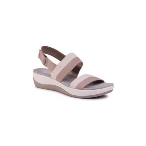 Clarks Sandále Arla Jocory 261503564 Béžová
