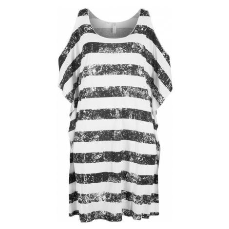 Plážové tričko s prestrihmi bonprix