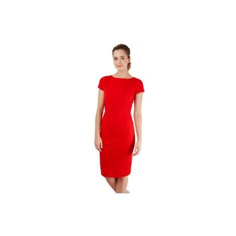 Closet London Dámske šaty Closet Body-con Ponte Pencil Dress Red
