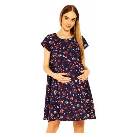 Tehotenské šaty Penny s kvetmi PeeKaBoo