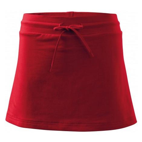 Sukňa dámska, červená