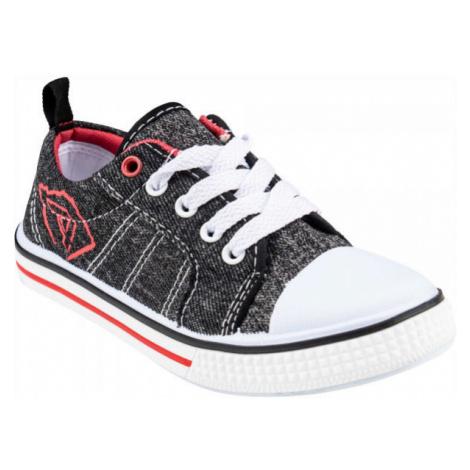 ALPINE PRO DUBHE sivá - Detská vychádzková obuv