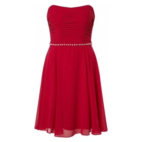 STAR NIGHT Kokteilové šaty  červená