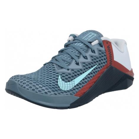 NIKE Športová obuv 'Metcon 6'  dymovo modrá / azúrová / biela / červená