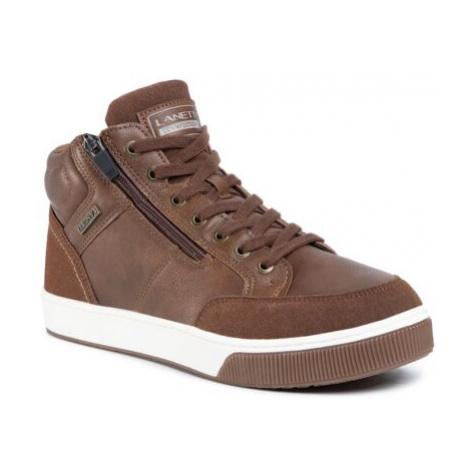 Šnurovacia obuv Lanetti MP07-91339-01 Imitácia kože/-Imitácia kože