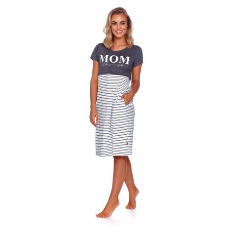 Sivá tehotenské pyžamá, nočné košele a župany