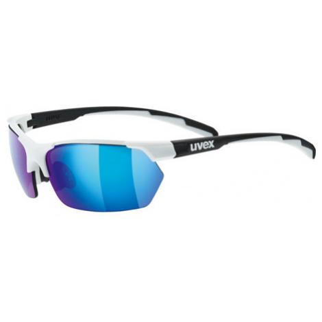Cyklistické Okuliare Uvex Sportstyle 114 Bielo-Čierne Matné