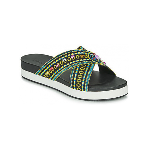 Desigual SHOES_NILO_BEADS Čierna