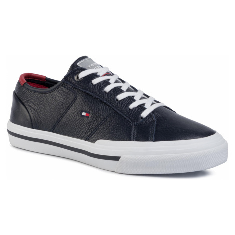 Tenisky TOMMY HILFIGER - Core Corporate Flag Sneaker FM0FM02593 Desert Sky DW5