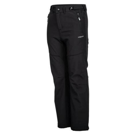 Head ZAVID čierna - Detské softshellové nohavice