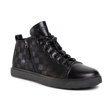 Šnurovacia obuv Lanetti MBS-IBIZA-01 Imitácia kože/-Imitácia kože