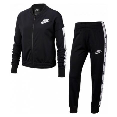 Nike NSW TRK SUIT TRICOT čierna - Dievčenská súprava