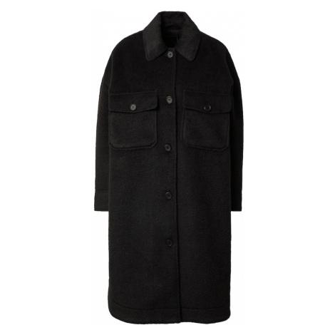 Gina Tricot Prechodný kabát 'Nejla'  čierna