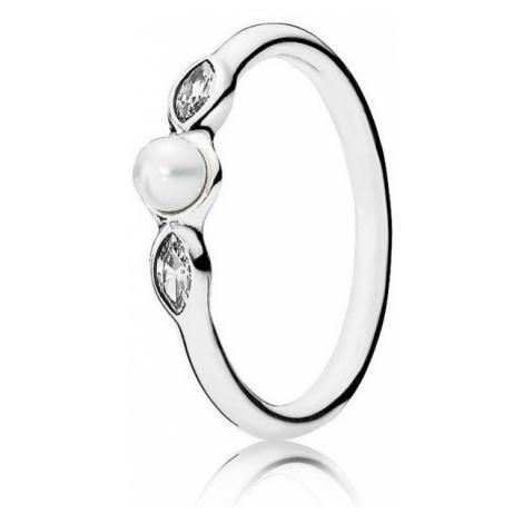 Pandora Nežný prsteň s perličkou 190964P mm