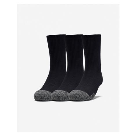 Under Armour Ponožky 3 páry detské Čierna