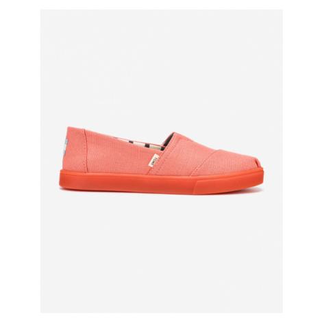 TOMS Slip On Ružová Oranžová