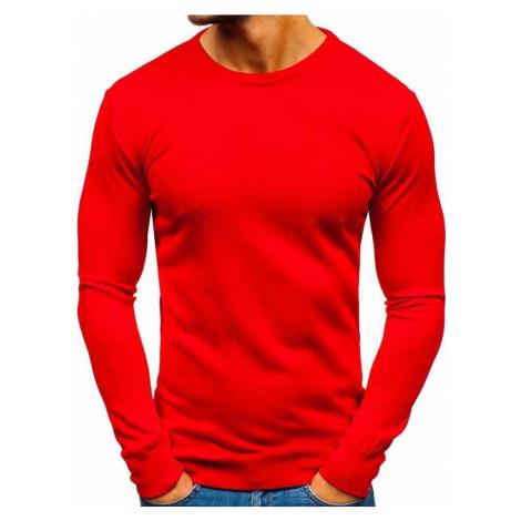 Červený pánsky sveter BOLF 2300