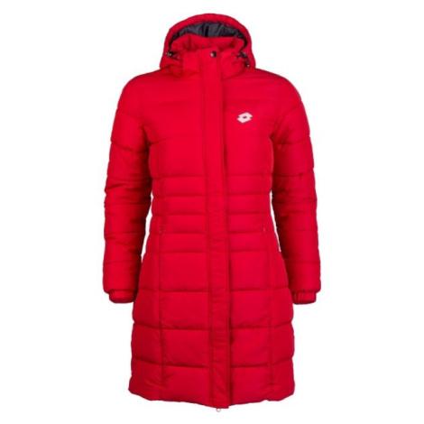 Lotto EDITH červená - Dámsky prešívaný kabát