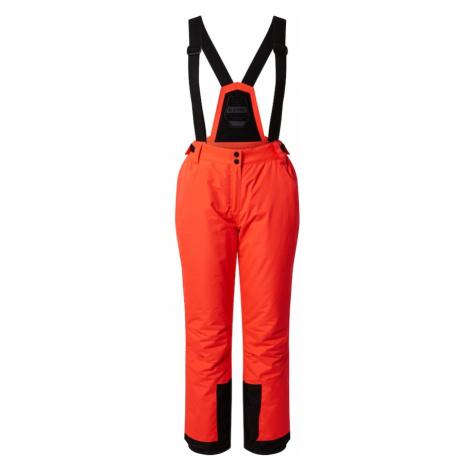 KILLTEC Outdoorové nohavice 'Erielle'  neónovo oranžová / čierna