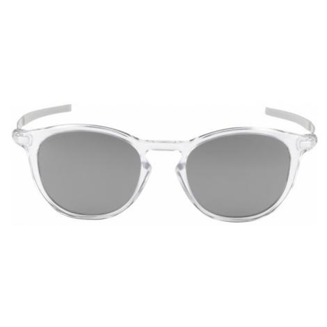 OAKLEY Športové slnečné okuliare 'PITCHMAN'  sivá / biela