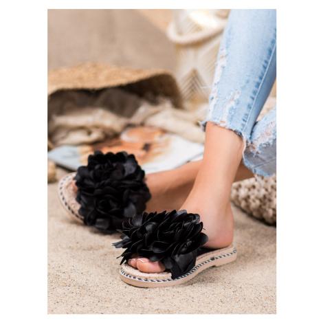 ANESIA PARIS STYLISH FLIP-FLOPS black