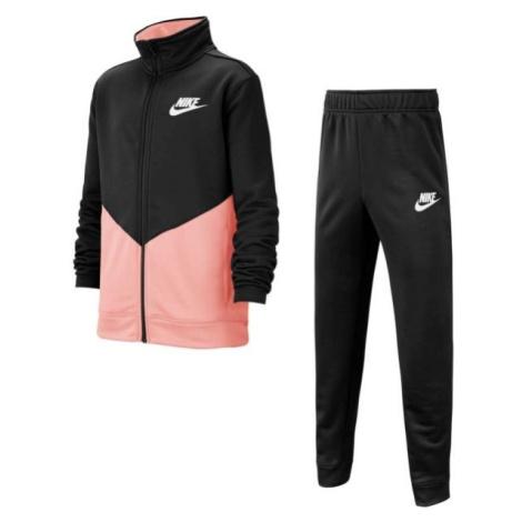 Nike B NSW CORE TRK STE PLY FUTURA ružová - Detská športová súprava