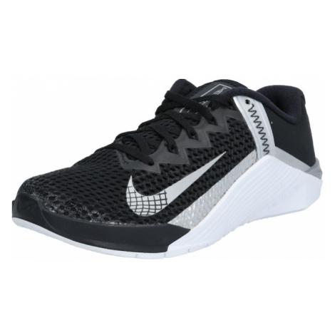 NIKE Športová obuv 'Metcon 6'  čierna / svetlosivá