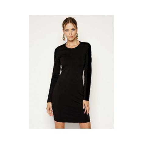 Just Cavalli Každodenné šaty S04CT0963 Čierna Regular Fit