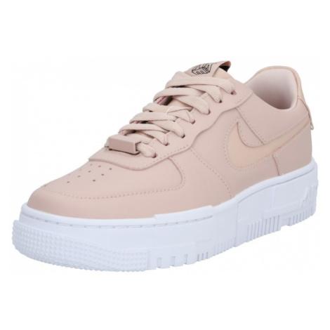 Nike Sportswear Nízke tenisky 'Air Force 1 Pixel'  ružová / biela