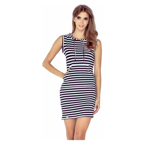 Šaty dámské Morimia 009 1 navy/white stripes