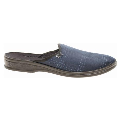 Pánské domácí pantofle Befado 089M412 modrá 089M412