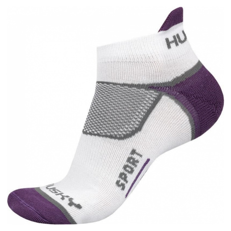 Husky Sport fialová, M(36-40) Ponožky