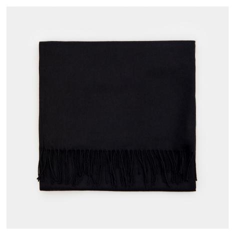 Mohito - Hladký šál s prímesou viskózy - Čierna